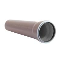 Труба для внутр. каналізації ІНСТАЛПЛАСТ 50-1000 1,8 сірий