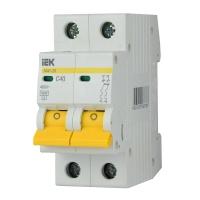 Автоматичний вимикач ІЕК ВА 47-29М 2Р 40А С