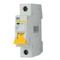 Автоматичний вимикач ІЕК ВА 47-29М 1Р 40А С