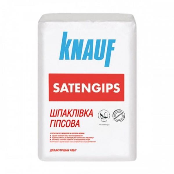 Фото товару - Шпаклівка KNAUF SATENGIPS фінішна 25кг