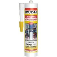 Герметик термостійкий SOUDAL GASKET SEAL до +285 ° C червоний 310 мл