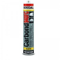 Клей-герметик SOUDAL Carbond поліуретановий 940FC (чорний) 310мл
