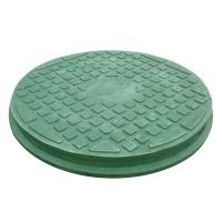 Люк каналіз. круглий ЛМ 1,0т зелений
