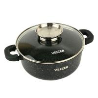 Каструля з антипригарним покриттям з кришкою 3,5 л Vezzer VZ8005