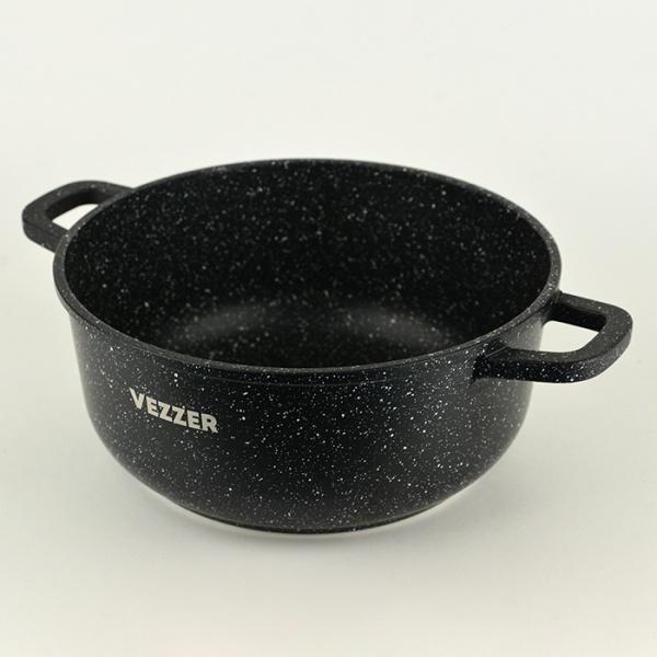 Каструля з антипригарним покриттям з кришкою 3,5 л Vezzer VZ8005 - фото товару 5