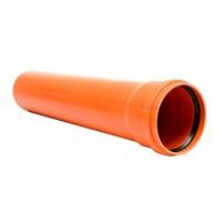 Труба для зовнішньої каналізації ПВХ 110х3,2 /0,5м/ ІНСТАЛПЛАСТ