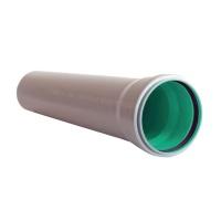 Труба для внутр. каналізації ІНСТАЛПЛАСТ 3-х шар. 110-1500 2,7мм сірий