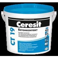 Ґрунтовка адгезійна Ceresit Бетонконтакт СТ 19 4,5 кг