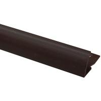 Профіль зовнішній ОМІС для плитки № 9 шоколад 8 мм 2,5 м