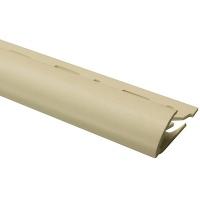 Профіль зовнішній ОМІС для плитки № 7 темно-бежевий 9 мм 2,5 м