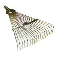 Грабли веерные проволочные оцинкованные, раздвижные 18 зубцов 200-460мм