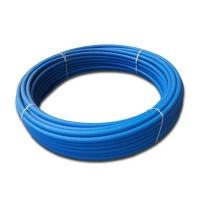 Труба ПЕ питна 100 d25х2,0 SDR 17 синя