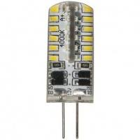 FERON Лампа LED LB-422 AC/DC 12V 3W 48leds G4 4000K 240lm