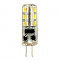 FERON Лампа LED LB-420 AC/DC 12V 2W 24leds G4 4000K 160lm