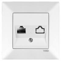 VIKO MERIDIAN біла Розетка компьют.