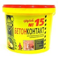 Грунтовка Артисан (Artisan) Бетонконтакт №15, 7,5кг