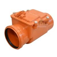 Зворотній клапан для зовнішньої каналізації 110 ІНСТАЛПЛАСТ