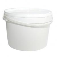 Відро д/соління з кришкою біле 15,7л