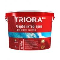 TRIORA Фарба ВД інтер. д/стін та стель 10л
