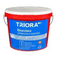 Шпаклівка TRIORA універсальна акрилова 1,5кг