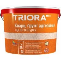 Кварц-грунт адгезійний під штукатурку TRIORA 10 л