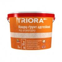 Кварц-грунт адгезійний під штукатурку TRIORA 3 л