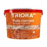 TRIORA Фарба ВД фасад. структурна 5кг