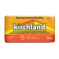Суміш для приклеювання плитки KIRCHLAND УльтраФлекс 25кг