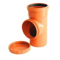 Ревізія для зовнішньої каналізації d200 ПВХ ІНСТАЛПЛАСТ