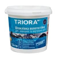 Шпаклівка TRIORA вологостійка акрилова 1,5кг