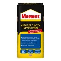 Клей для плитки МОМЕНТ термостійкий 25кг