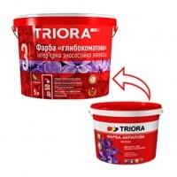 TRIORA Фарба ВД інтер. глибокоматова латексна 10л