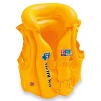 INTEX Жилет жовтий 50-47см 3-6років
