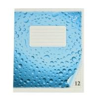 Зошит 12 аркушів клітина Бріск фонова обкл.