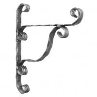 Кронштейн кований Артдеко 280х230х20х4 вальц.