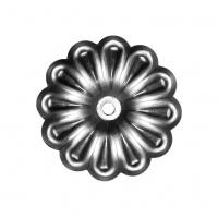 Квітка кована Артдеко 68х1 отвір 6