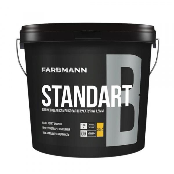 """Фото товару - Штукатурка FARBMANN структурна """"баранець"""" Standart B, база LC 25кг"""