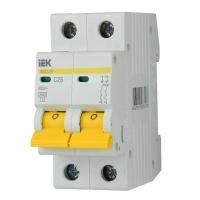 Автоматичний вимикач ІЕК ВА 47-29М 2Р 25А С