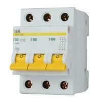 Автоматичний вимикач ІЕК ВА 47-29М 3Р 10А С