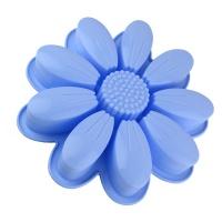 Форма для выпекания Ромашка круглая, высокая, силиконовая