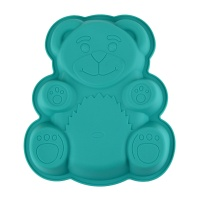 Форма для выпекания Медвежонок 25х35х6см, силиконовая