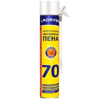 Піна монтажна Lacrysil побутова 850 мл