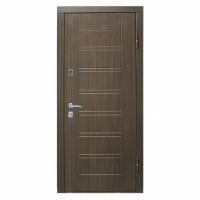 RICCARDI Двері метал. економ Лагуна венге 2050х960 ліва